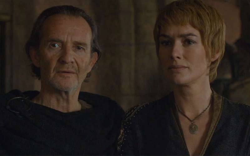 qyburn and cersei
