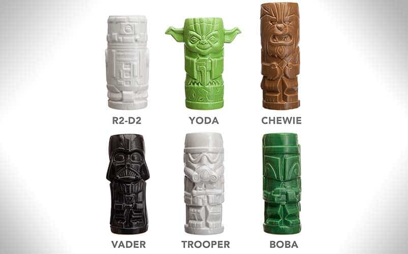 Star Wars Geeky Tikis