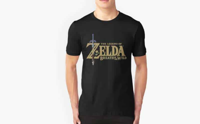 Colorized Breath of the Wild Logo T-Shirt
