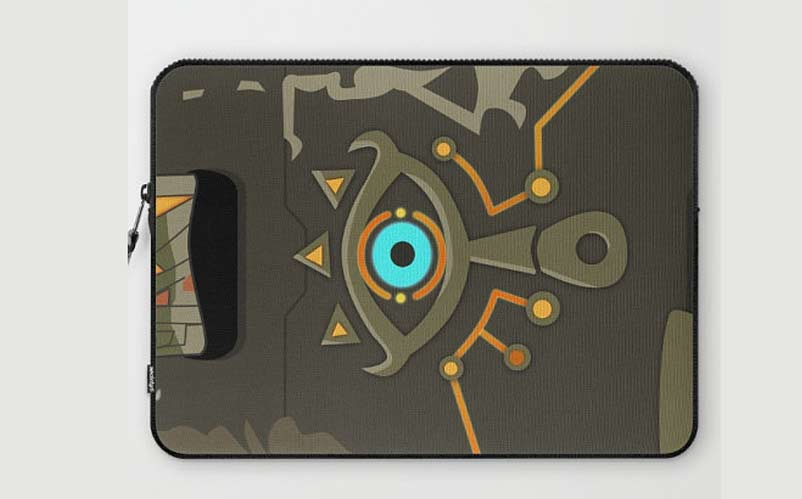 Legend of Zelda Sheikah Slate Laptop Sleeve