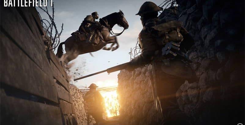 battlefield 1 horses