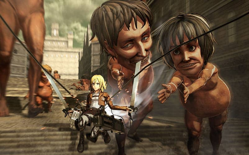 attack on titan ps4 review