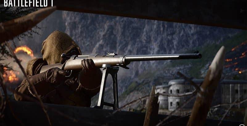 battlefield 1 sniper