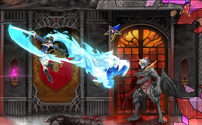 Bloodstained delayed