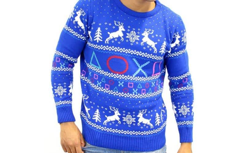 PlayStation Symbols Christmas Sweater