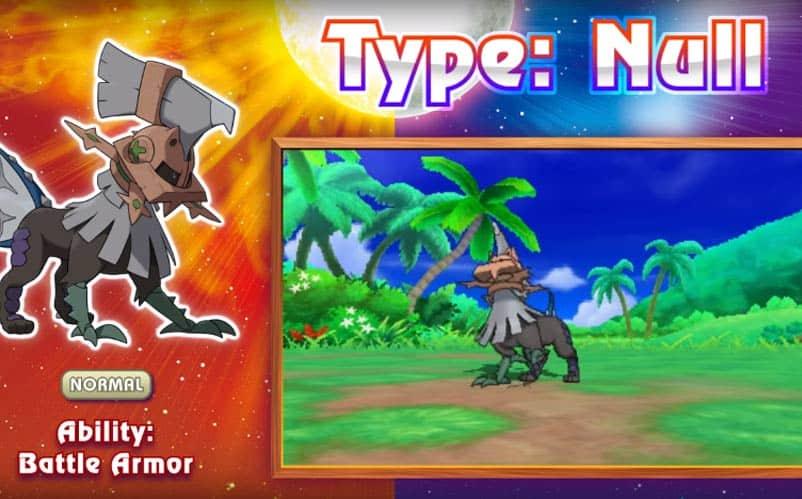 Pokemon Type Null