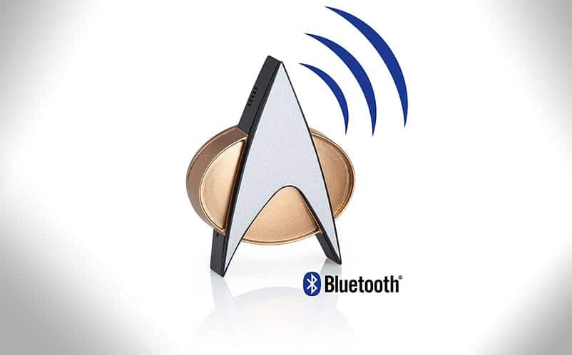 Star Trek TNG Bluetooth communicator