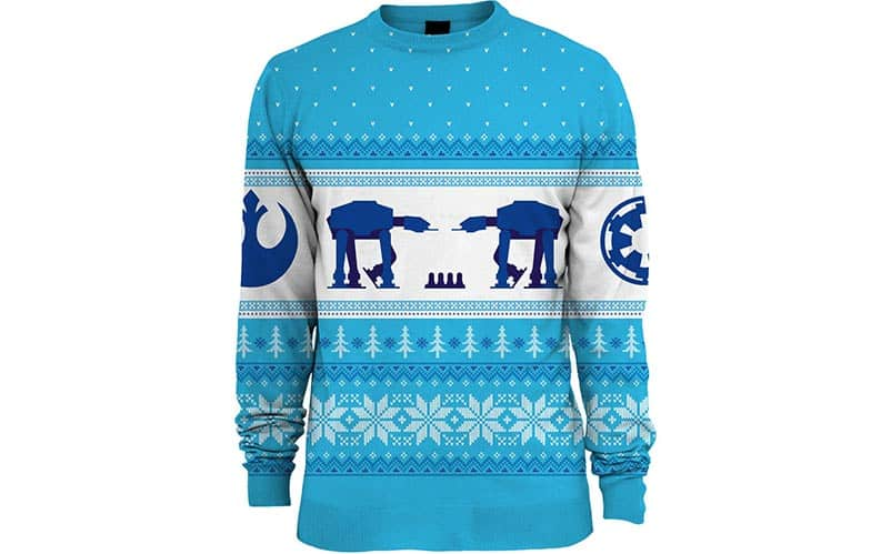 Star Wars: AT-AT Hoth Christmas Sweater