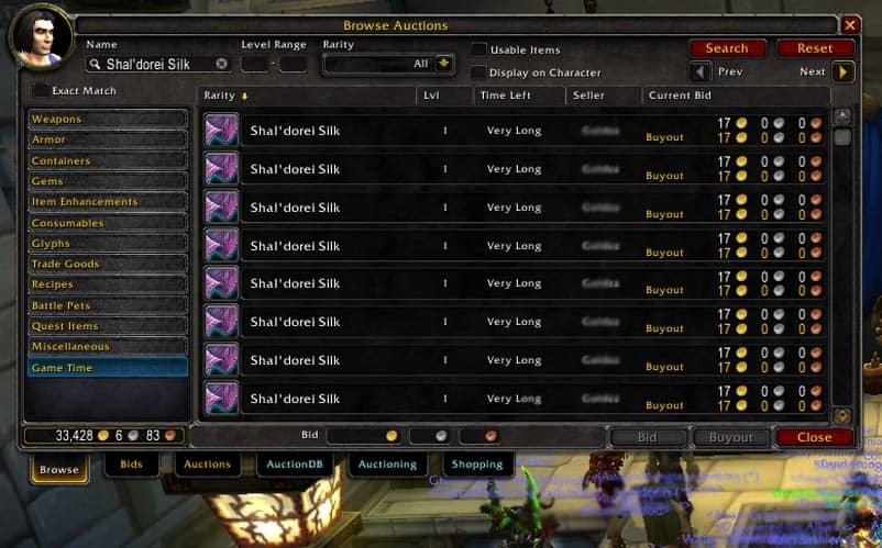Wow Gold Farming Legion