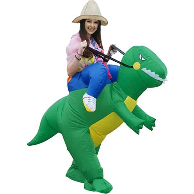Inflatable Dino Rider