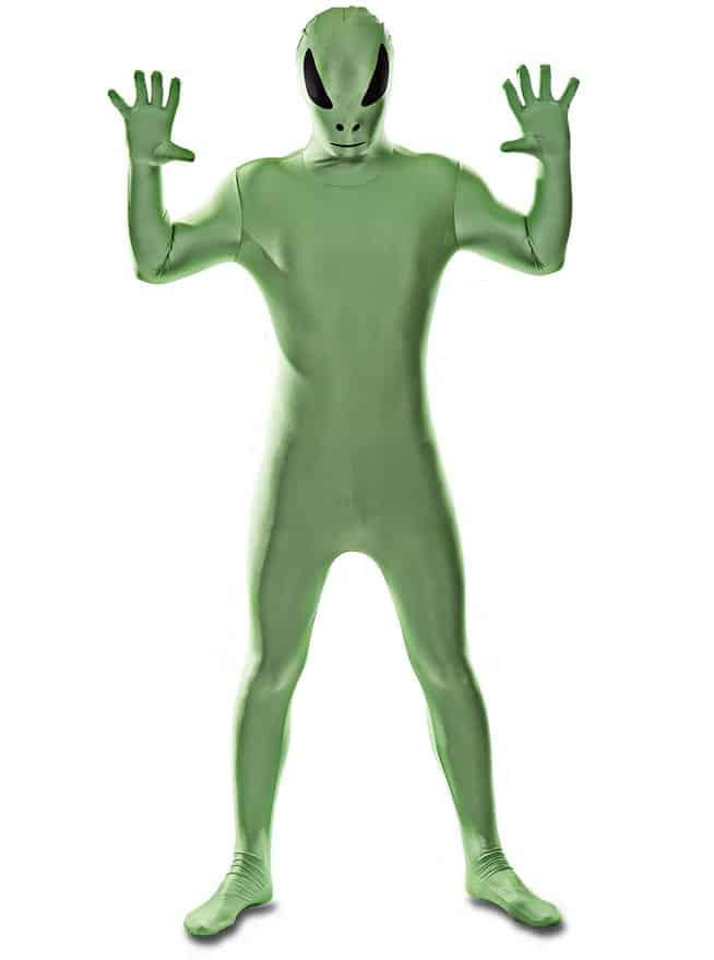 Green Alien Morphsuit