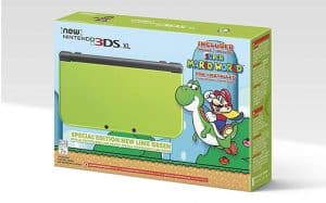 lime green 3ds XL box