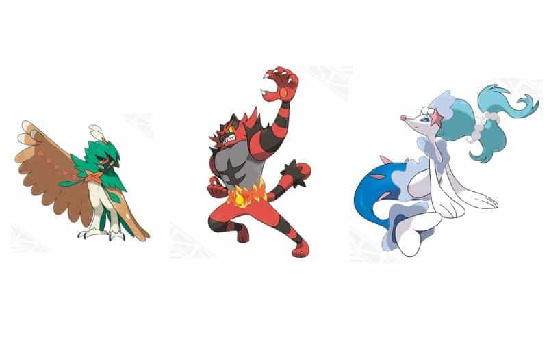 new starter pokemon evolutions