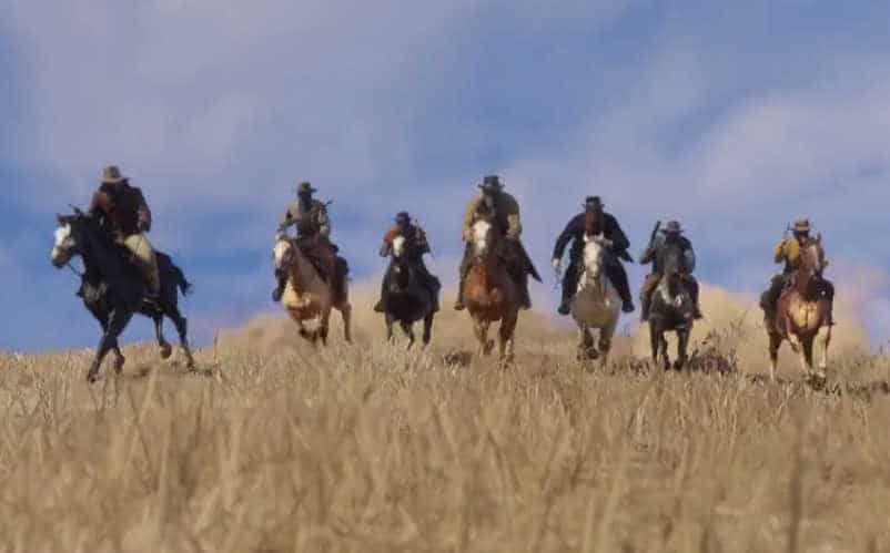 red dead redemption 2 reveal trailer