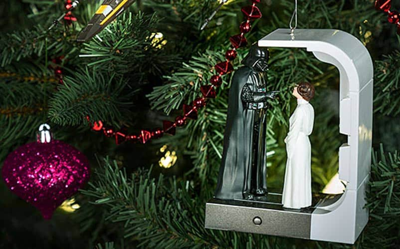 star wars scene christmas ornament