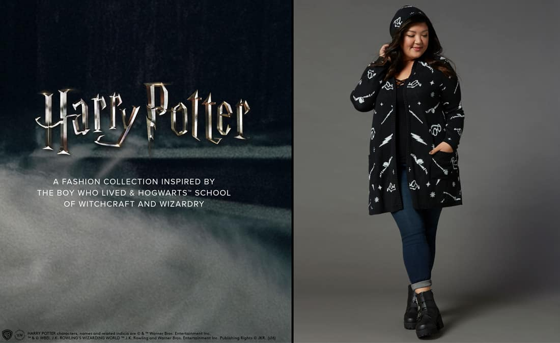 90d63fabe35 Harry Potter Collection Comes to Torrid