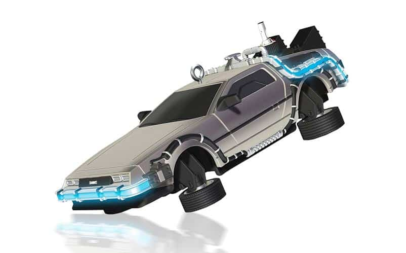 Delorean Ornament