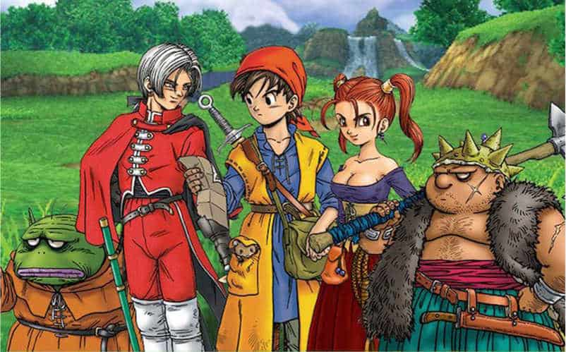 dragon quest 8 release date
