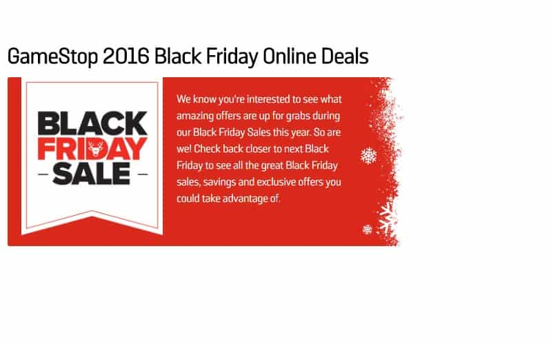 black friday gamestop deals
