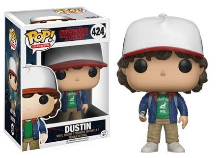 stranger things funko Dustin