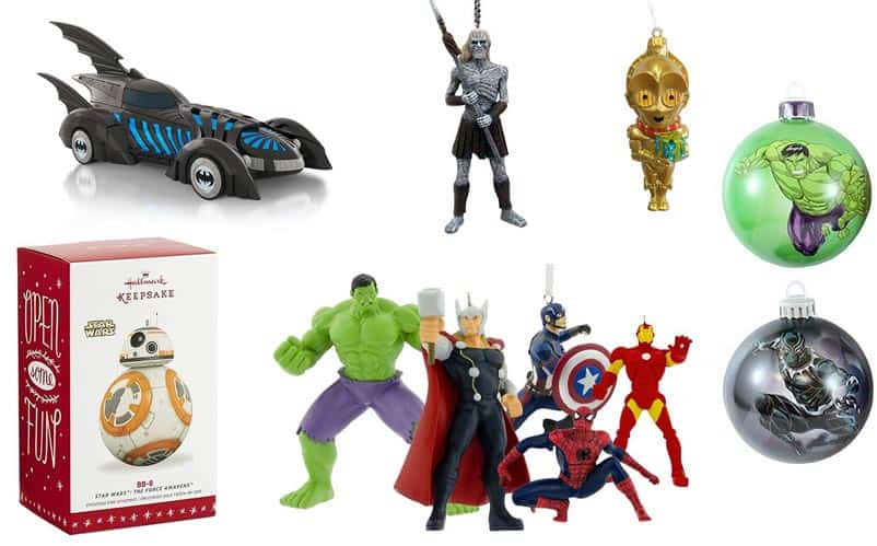 Hallmark Christmas Ornaments 2019.30 Best Nerdy Christmas Ornaments The Ultimate List 2019