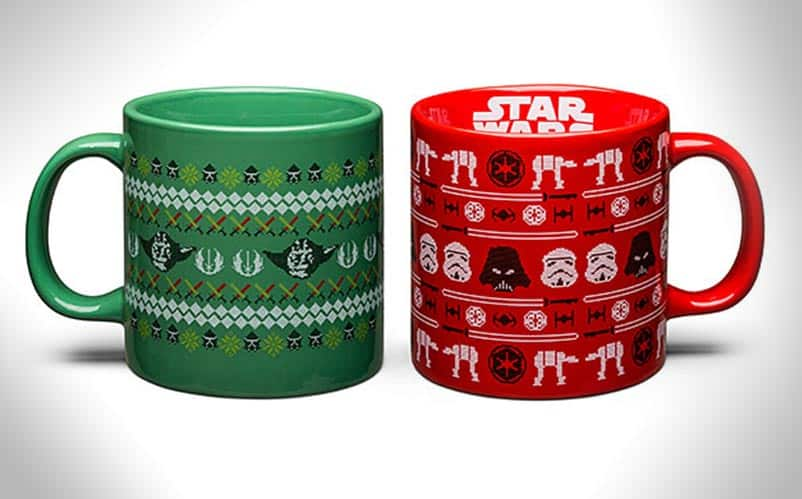 Star Wars ugly christmas sweater mugs