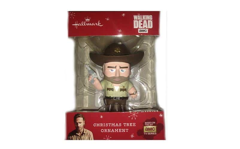 walking dead ornaments