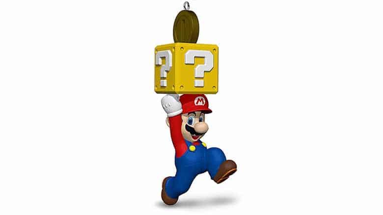 Mario christmas ornamnet
