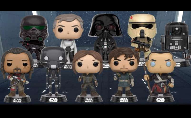 rogue one funko pops