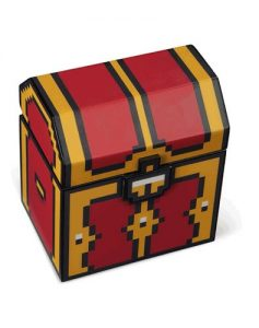 Legendary 8-Bit Light-Up Jewelry Treasure Chest with Sound