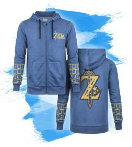 Zelda: Breath of the Wild 'Golden Gauntlets' Hoodie
