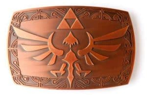 Zelda: Copper Hylian Crest Belt Buckle