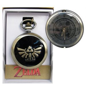 Legend of Zelda Triforce Goldtone Pocket Watch