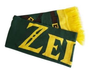 Zelda Cosplay Knitted Scarf