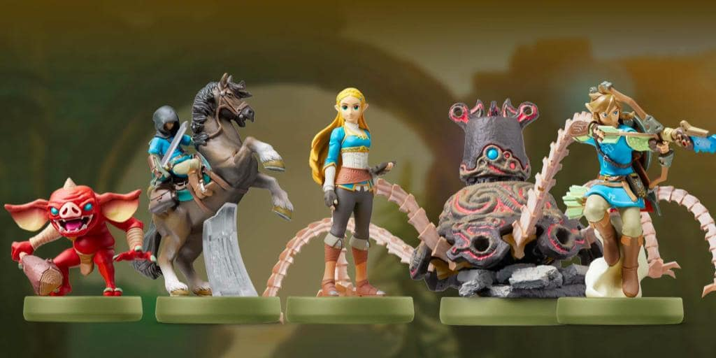 Breath of Wild amiibo Hint At Rare Items
