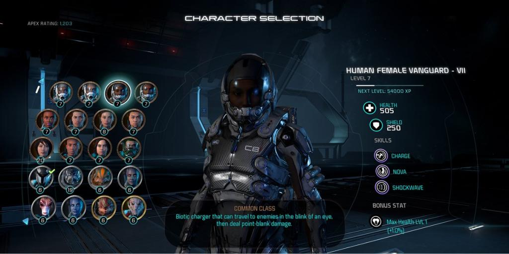 BioWare Teases Roster For Mass Effect: Andromeda Multiplayer