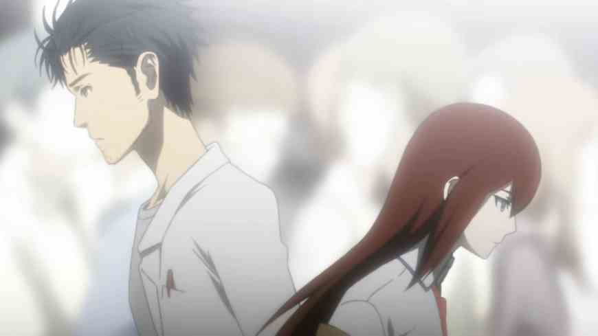 Kurisu and Okabe (Steins;Gate)