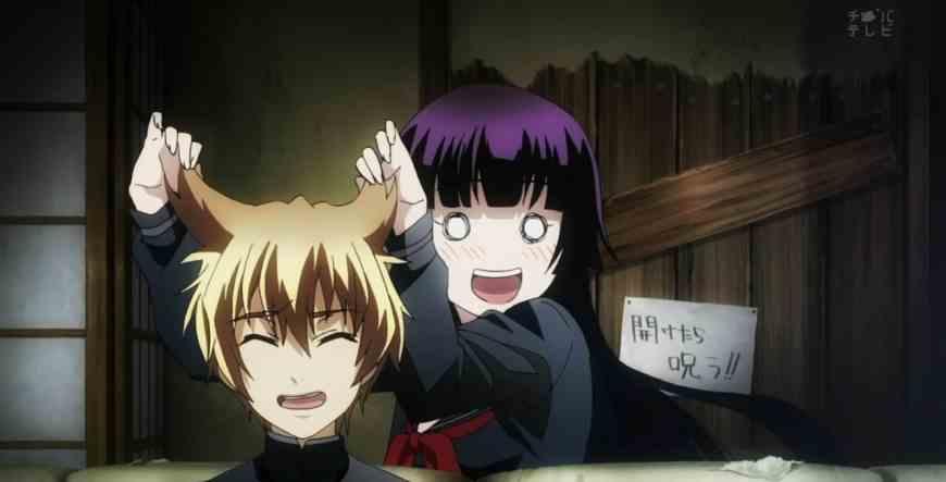 Yuuko & Teiichi (Tasogare Otome x Amnesia)