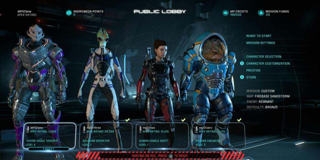 Mass Effect: Andromeda Multiplayer Trailer Shows Maps, Characters, And Strike Teams