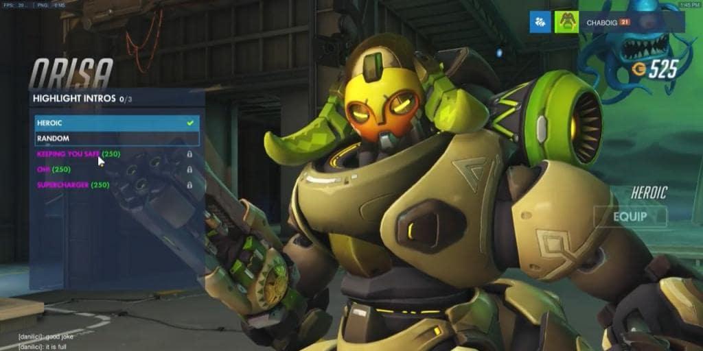 New Overwatch Hero Orisa Launches Today