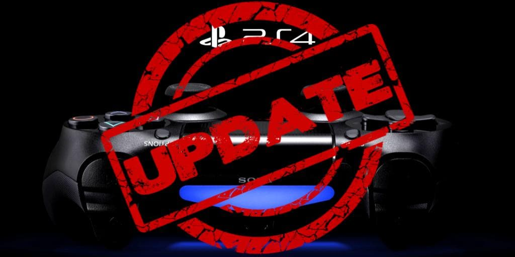 PS4 Update Comes Out Tomorrow