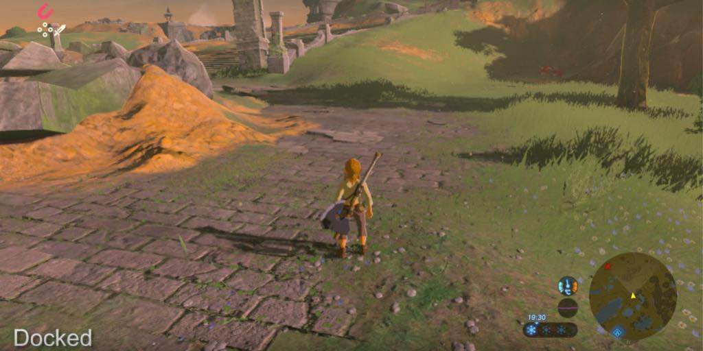 Breath of the Wild: The Switch Performs Better In Portable Mode
