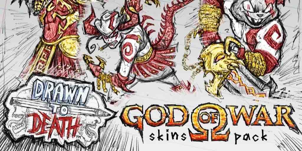 Drawn To Death Has God Of War Skins