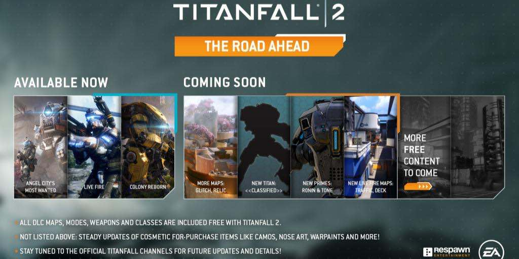 Titanfall 2 Soon To Have New Titan And Maps