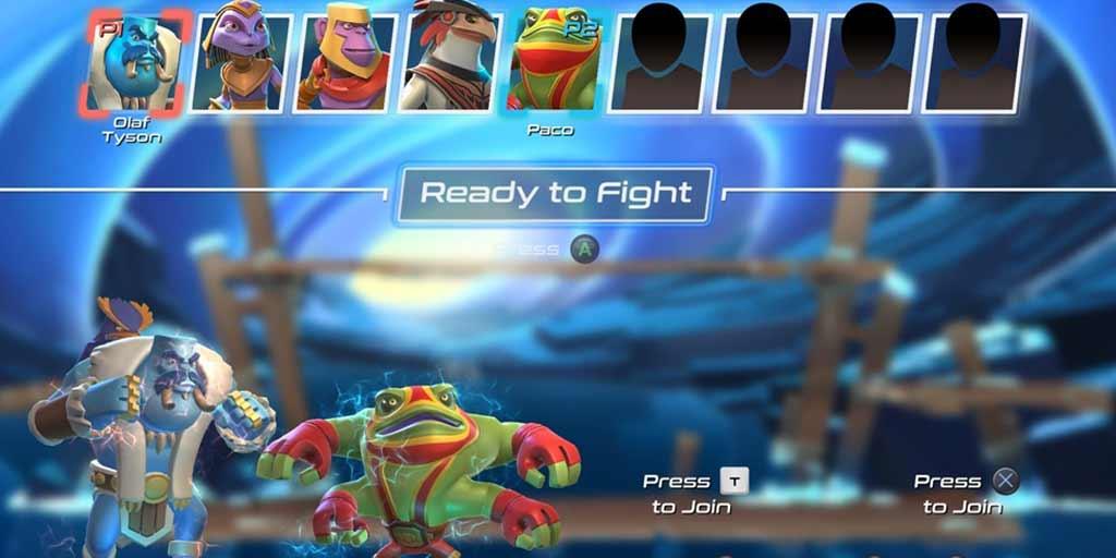 Brawlout character select