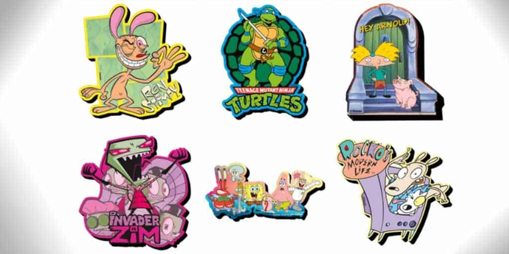 90s cartoon magnets