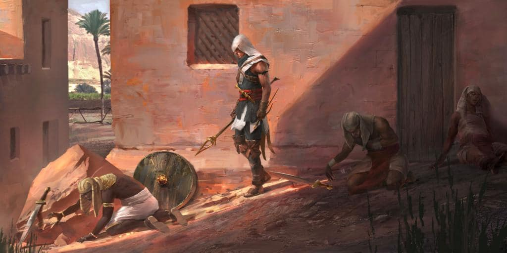 Assassin's Creed Origins Will Have Reduced Icon Clutter