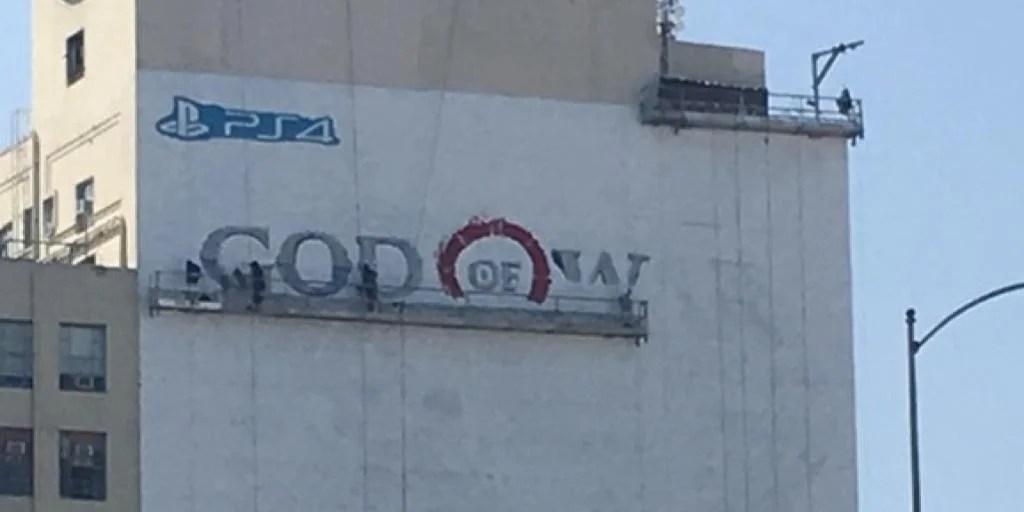 God Of War Mural For E3 2017 Implies Conference Headliner