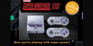 SNES Mini Coming September 2017