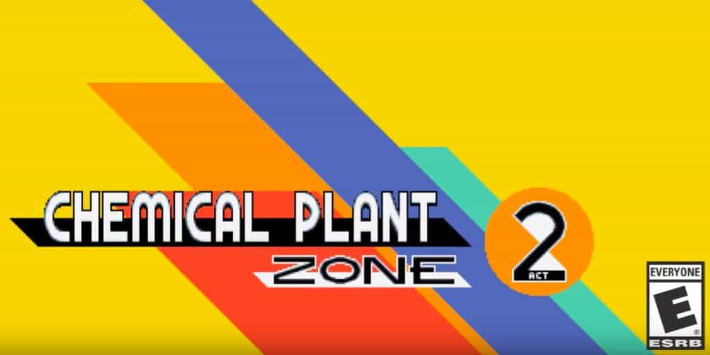 Sonic Mania Trailer Of The Chemical Plant: Act 2
